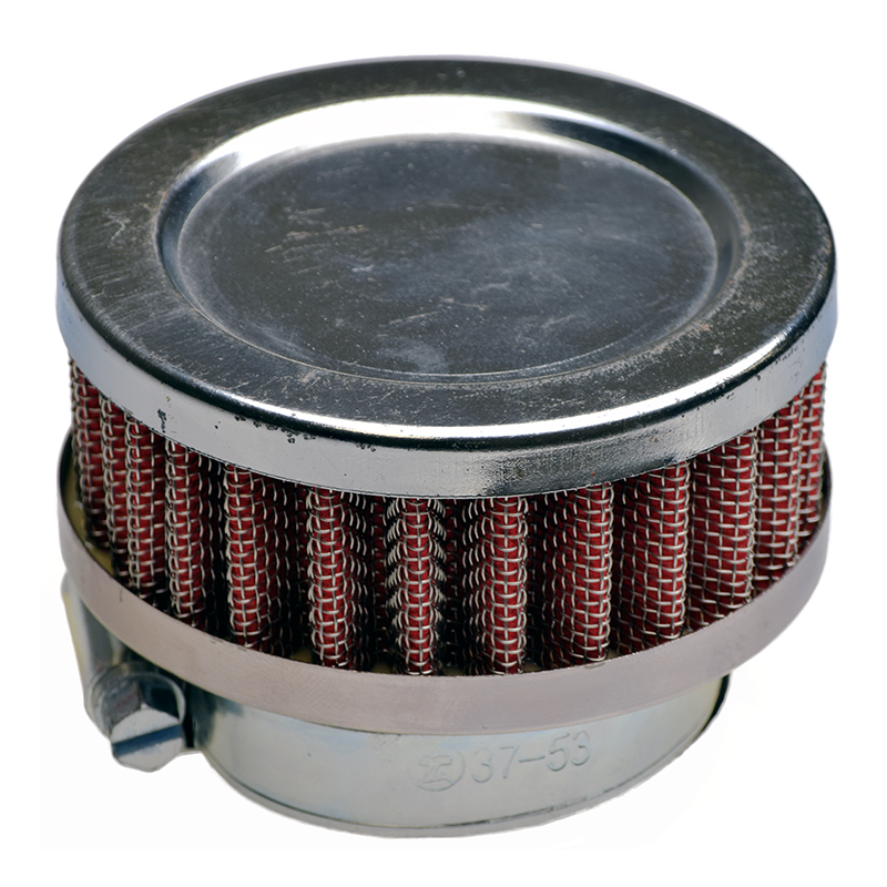 Flat Pancake Style Air Filter for Gas Scooters