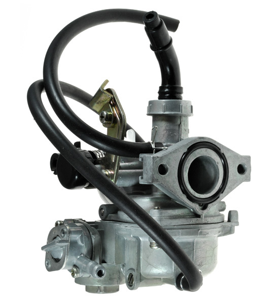 ATV & Dirt Bike Carburetor with 19 mm Intake and Right Side Choke(with Fuel Shutoff)