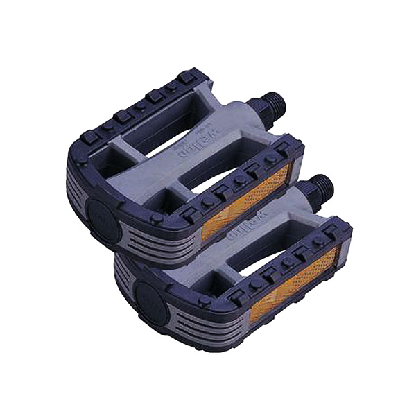 Black & Gray Pedals for  Electric Bicycles (Set of 2)